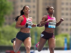 adidas Grand Prix professional track & field meet: womens 100 meters,