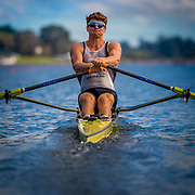 New Zealand Rowing Team Elite squad for the 2017 World Rowing Championships during testing on Lake Karapiro end of August 2017  Copyright photo © Steve McArthur /