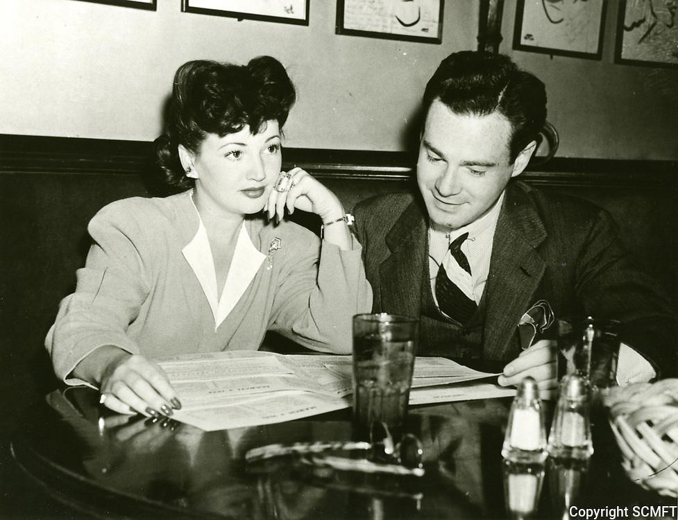 1942 Aarlene Judge & Baron Palan at the Brown Derby