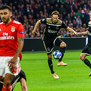 NLD/Amsterdam/20181023 - Champions Leaguewedstrijd  Ajax - SL Benfica, nr.17 Daley Blind