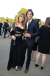 CHARLOTTE TILBURY and JAMES ROUSSEAU at the Fashion Rules Exhibition Opening at Kensington Palace, London W8 on 4th July 2013.