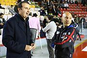DESCRIZIONE : Roma Campionato Lega A 2013-14 Acea Virtus Roma Banco di Sardegna Sassari<br /> GIOCATORE :  Sardara Stefano Simone Pianigiani<br /> CATEGORIA : ritratto pre game<br /> SQUADRA : Banco di Sardegna Sassari<br /> EVENTO : Campionato Lega A 2013-2014<br /> GARA : Acea Virtus Roma Banco di Sardegna Sassari<br /> DATA : 26/12/2013<br /> SPORT : Pallacanestro<br /> AUTORE : Agenzia Ciamillo-Castoria/M.Simoni<br /> Galleria : Lega Basket A 2013-2014<br /> Fotonotizia : Roma Campionato Lega A 2013-14 Acea Virtus Roma Banco di Sardegna Sassari <br /> Predefinita :