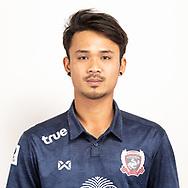 THAILAND - JUNE 07: Parndecha Ngernprasert #22 of Suphan Buri FC on June 07, 2019.<br /> .<br /> .<br /> .<br /> (Photo by: Naratip Golf Srisupab/SEALs Sports Images/MB Media Solutions)