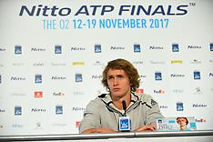 ATP World Tour Finals Media Day -  10 November 2017