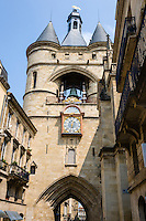 France, Bordeaux. Grosse Cloche Bell Tower.