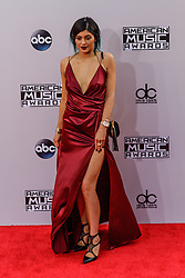 LOS ANGELES, CA NOVEMBER 23: Kylie Jenner arrives at the 2014 American Music Awards at Nokia Theatre L.A. Live on November 23, 2014 in Los Angeles, California. Byline, credit, TV usage, web usage or linkback must read SILVEXPHOTO.COM. Failure to byline correctly will incur double the agreed fee. Tel: +1 714 504 6870.
