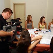 Miss Nederland 2003 reis Turkije, training