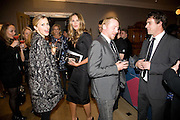 LAURA BAILEY; ELLE MACPHERSON; SIMON PEGG,  Esquire Man at the Top Awards 2008. Haymarket Hotel. London. 3 November 2008 *** Local Caption *** -DO NOT ARCHIVE -Copyright Photograph by Dafydd Jones. 248 Clapham Rd. London SW9 0PZ. Tel 0207 820 0771. www.dafjones.com