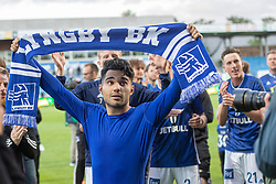 Rezan Corlu (Lyngby Boldklub) efter kampen i 3F Superligaen mellem Lyngby Boldklub og Hobro IK den 20. juli 2020 på Lyngby Stadion (Foto: Claus Birch).
