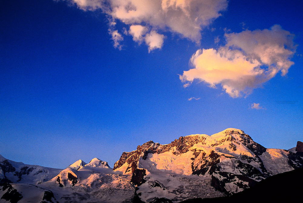 Gornergletscher (glacier), above Zermatt, Switzerland