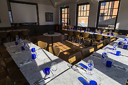 Pizza Express function room. Tonbridge, March 06 2018.