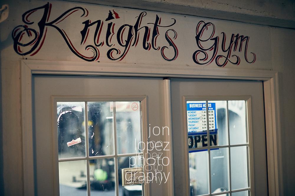 PHILADELPHIA, PA - JANUARY 29, 2016: Devon Still weight training session. Mandatory Copyright Notice: Photo by Jon Lopez