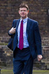 © Licensed to London News Pictures. 12/04/2016. London, UK. GREG CLARK arrives for a cabinet meeting at 10 Downing Street. Photo credit : Vickie Flores/LNP