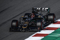 March 1, 2019 - Barcelona, Catalonia, Spain - ROMAIN GROSJEAN (FRA) from team Haas drives in his VF-19 during day eight of the Formula One winter testing at Circuit de Catalunya (Credit Image: © Matthias OesterleZUMA Wire)