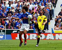 PORTSMOUTH/ASTON VILLA PREMIER LEAGUE 16/08/03 <br />
