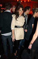 CAROLINE SIEBER at a party to celebrate the launch of a range of leather accessories designed by Giles Deacon for Mulberry held at Harvey Nichols, Knightsbridge, London on 30th October 2007.<br /><br />NON EXCLUSIVE - WORLD RIGHTS