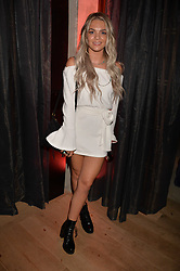 Louisa Johnson at the Warner Music Group and British GQ Summer Party in partnership with Quintessentially held at Nobu Shoreditch, Ebor Street, London England. 5 July 2017.<br /> Photo by Dominic O'Neill/SilverHub 0203 174 1069 sales@silverhubmedia.com