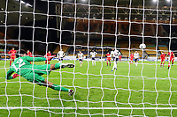Football - 2021 UEFA European Under-21 Championship - Qualifying - Group 3 - England vs Andorra<br /> <br /> Callum Hudson-Odoi scores his sides third goal from a penalty to make the score 3-1<br /> <br /> COLORSPORT/PAUL GREENWOOD