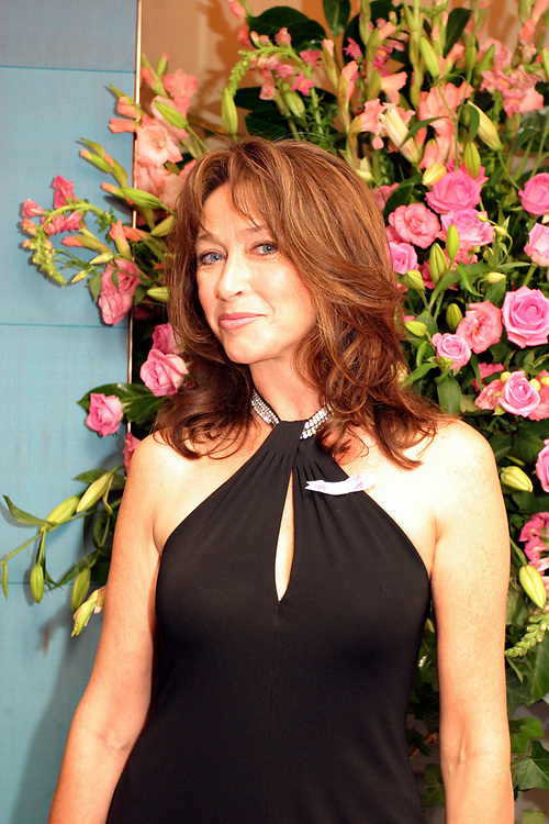 """Actress Cheri Lunghi arrives at the  Breast Cancer Awareness Month, """"The Pink Ribbon Ball."""" The Dorchester, 2004, London"""