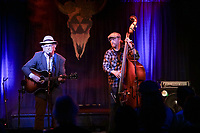 David Olney and Daniel Seymour performance at the Extended Play Sessions at the Fallout Shelter in Norwood MA - May 8, 2018