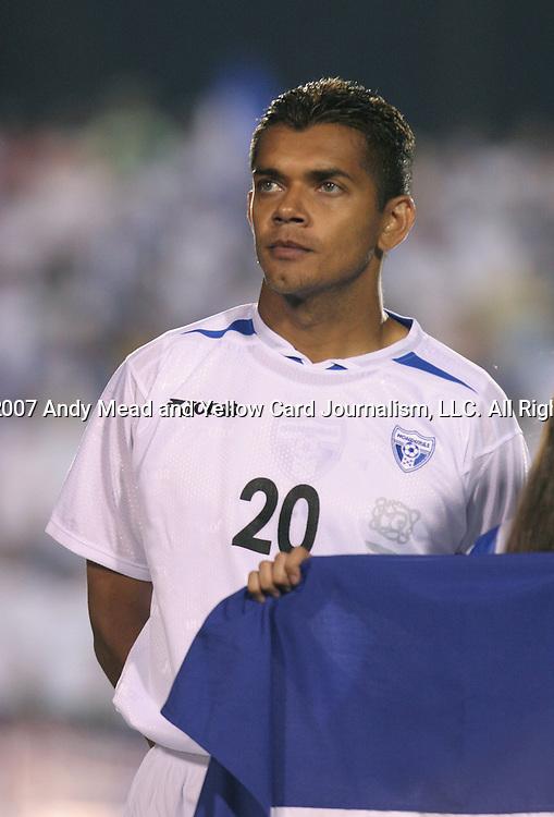 Honduras's Amado Guevara on Tuesday, March 27th, 2007 at SAS Stadium in Cary, North Carolina. The Honduras Men's National Team defeated El Salvador 2-0 in a men's international friendly.