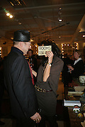 PAUL SIMONON AND SERENA REES, Book launch for ÔThe Measure' edited by Louise Clarke. 	 commissioned by the London College of Fashion. Bluebird. King's Rd. London. 21 November 2007. -DO NOT ARCHIVE-© Copyright Photograph by Dafydd Jones. 248 Clapham Rd. London SW9 0PZ. Tel 0207 820 0771. www.dafjones.com.