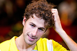 20-10-2013 TENNIS: ATP ERSTE BANK OPEN: WENEN<br /> Robin Haase (NED) verliest de finale van Tommy Haas (GER)<br /> ***NETHERLANDS ONLY***<br /> ©2013-FotoHoogendoorn.nl