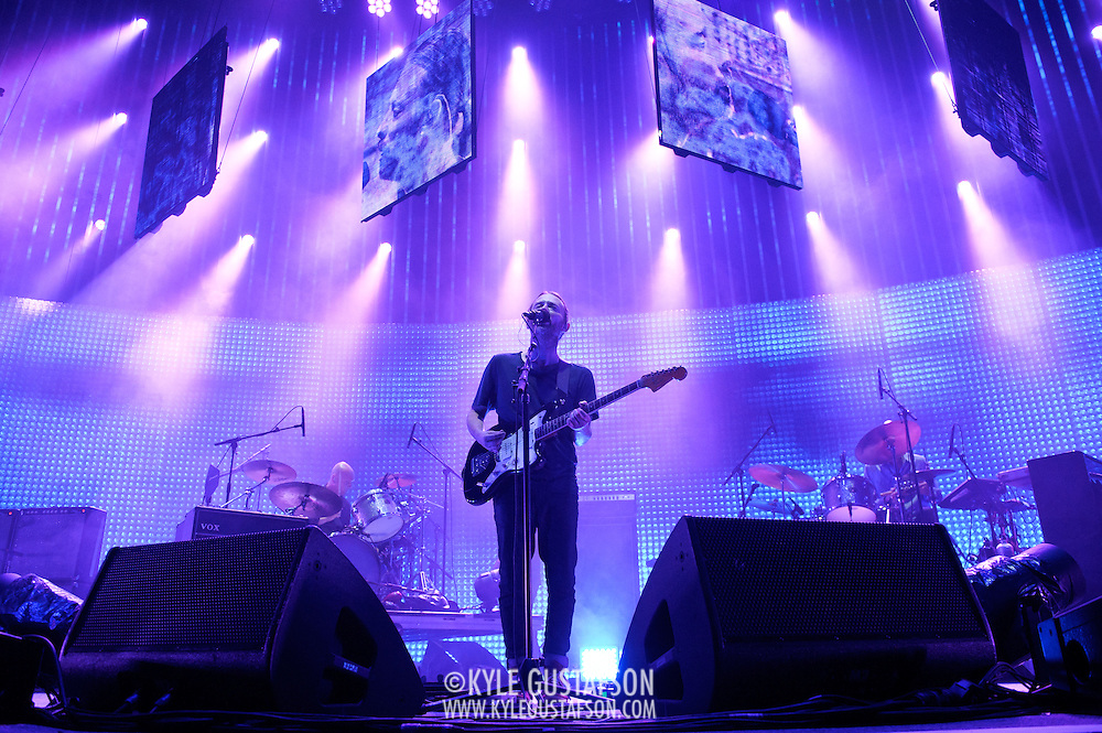 WASHINGTON, DC - June 3rd, 2012 - Thom Yorke  of Radiohead performs at the Verizon Center in Washington, D.C.  It was the first time the band performed in the metro-D.C. area since their infamous show in the rain at Nissan Pavilion in 2008. (Photo by Kyle Gustafson/For The Washington Post)