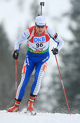 Slovenian athlete Joze Mehle at Men 20 km Individual at E.ON Ruhrgas IBU World Cup Biathlon in Hochfilzen (replacement Pokljuka), on December 18, 2008, in Hochfilzen, Austria. (Photo by Vid Ponikvar / Sportida)