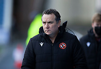 Football - 2020 / 2021 Scottish Premiership - Glasgow Rangers vs Dundee United - Ibrox Stadium<br /> <br /> Dundee United manager Micky Mellon<br /> <br /> Credit COLORSPORT/BRUCE WHITE