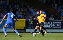 Edward Upson of Bristol Rovers passes the ball - Mandatory by-line: Arron Gent/JMP - 21/09/2019 - FOOTBALL - Cherry Red Records Stadium - Kingston upon Thames, England - AFC Wimbledon v Bristol Rovers - Sky Bet League One