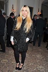 ZARA MARTIN at the launch of Whole World Water at The Savoy Hotel, London on 22nd March 2013.
