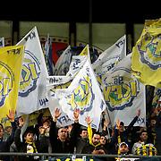Fenerbahce's Supporters fans during their Turkish superleague soccer match Fenerbahce between Sivasspor at the Sukru Saracaoglu stadium in Istanbul Turkey on Sunday 03 February 2013. Photo by Aykut AKICI/TURKPIX