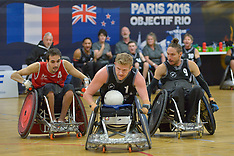 2016 IWRF Wheelchair Rugby Rio Qualifiers, Paris, France