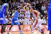 DESCRIZIONE : Campionato 2014/15 Serie A Beko Grissin Bon Reggio Emilia - Dinamo Banco di Sardegna Sassari Finale Playoff Gara7 Scudetto<br /> GIOCATORE : Rimantas Kaukenas<br /> CATEGORIA : Passaggio<br /> SQUADRA : Grissin Bon Reggio Emilia<br /> EVENTO : LegaBasket Serie A Beko 2014/2015<br /> GARA : Grissin Bon Reggio Emilia - Dinamo Banco di Sardegna Sassari Finale Playoff Gara7 Scudetto<br /> DATA : 26/06/2015<br /> SPORT : Pallacanestro <br /> AUTORE : Agenzia Ciamillo-Castoria/L.Canu