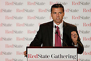Jim Graham speaks during the 2014 RedState Gathering at the Worthington Renaissance Hotel in Fort Worth, Texas on August 9, 2014. (Cooper Neill for The Texas Tribune)