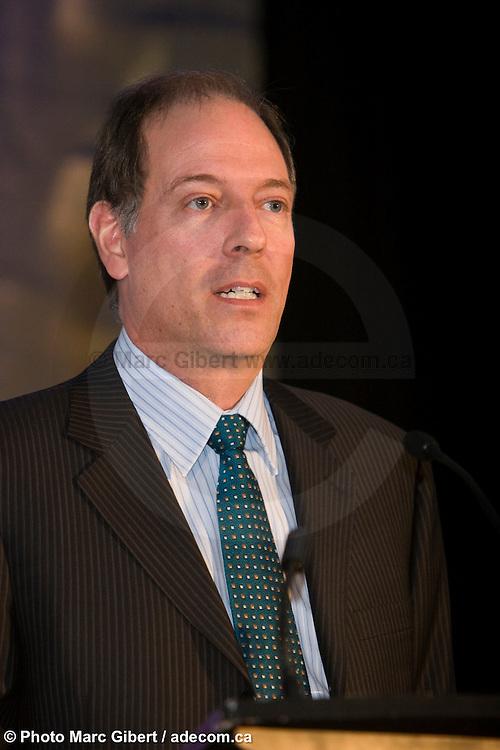 """Congrès """"Investir c'est Capital!"""" organisé par Réseau Capital et C4 communications à  Centre Mont Royal / Montreal / Canada / 2009-02-18, © Photo Marc Gibert / adecom.ca"""