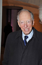 LORD ROTHSCHILD at a private view of 'Valentino: Master Of Couture' at Somerset House, London on 28th November 2012.