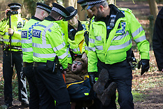 2020-02-11 Activists opposed to HS2 arrested as Boris Johnson announces decision to proceed