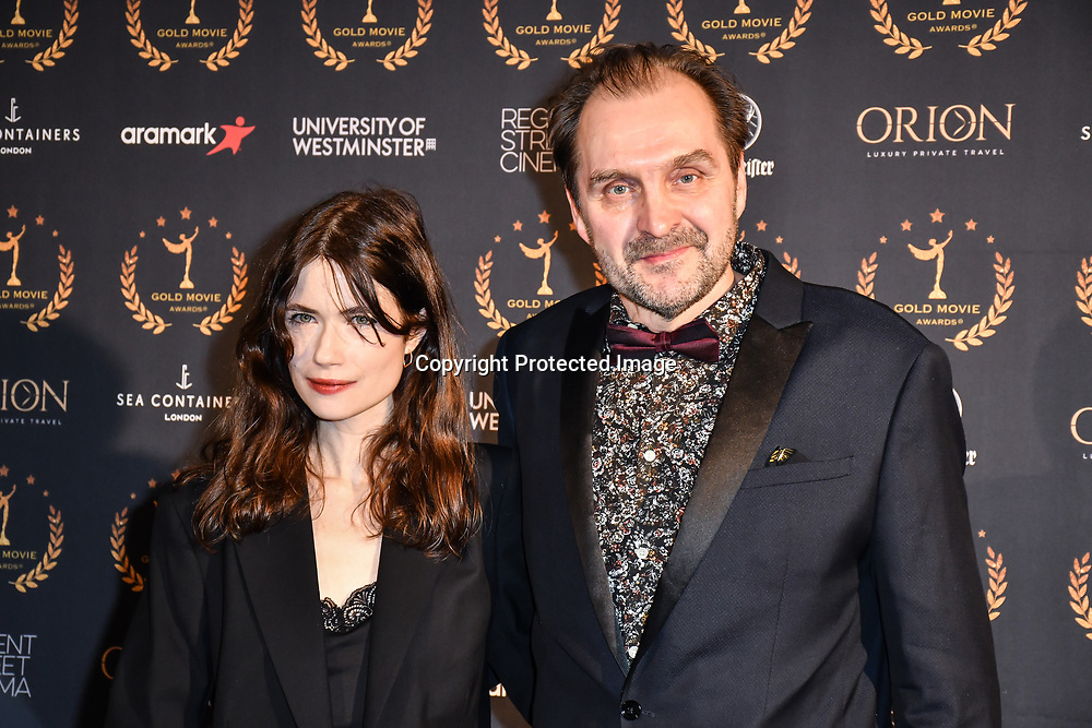Arrivers at Gold Movie Awards at Regents Street Theatre, on 9th January 2020, London, UK