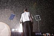 US Senator and Democratic Presidential nominee Barack Obama speaks to supporters during a rally in Fredericksburg, Virginia, USA, 27 September 2008. The rally comes the day after the first presidential debate between Senator Obama and  Senator John McCain.
