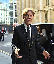 File photo dated 20/4/2018 of Sir Cliff Richard arriving at the Rolls Building in London during his continuing legal action against the BBC over coverage of a police raid at his apartment in Berkshire in August 2014.