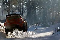 MOTORSPORT - WORLD RALLY CHAMPIONSHIP 2011 - RALLY SWEDEN / RALLYE DE SUEDE - 10 TO 13/02/2011 - KARLSTAD (SWE) - PHOTO : DPPI - <br /> 05 HENNING SOLBERG / ILKA MINOR - FORD FIESTA RS WRC - M-SPORT STOBART FORD WORLD RALLY TEAM - ACTION