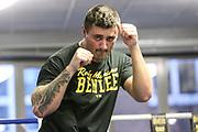 BOXEN: EC Boxing, Training, Hamburg, 30.01.2020<br /> Danilo Milacic<br /> © Torsten Helmke