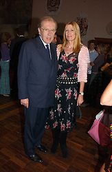 SIR DAVID & LADY CARINA FROST at a party to celebrate the publication of Wicked - A Tale of Two Schools by Jilly Cooper held at Westminster School, Dean's Yard, London on 11th May 2006.<br /><br />NON EXCLUSIVE - WORLD RIGHTS