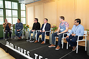 Brooklyn, NY - November 3, 2018: The third annual Food Loves Tech festival hosted by Edible Brooklyn at Industry City in Sunset Park.<br /> <br /> Photos by Seher Sikandar for Food Loves Tech.