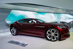 NEW YORK, USA - MARCH 23, 2016: Buick Avista concept on display during the New York International Auto Show at the Jacob Javits Center.