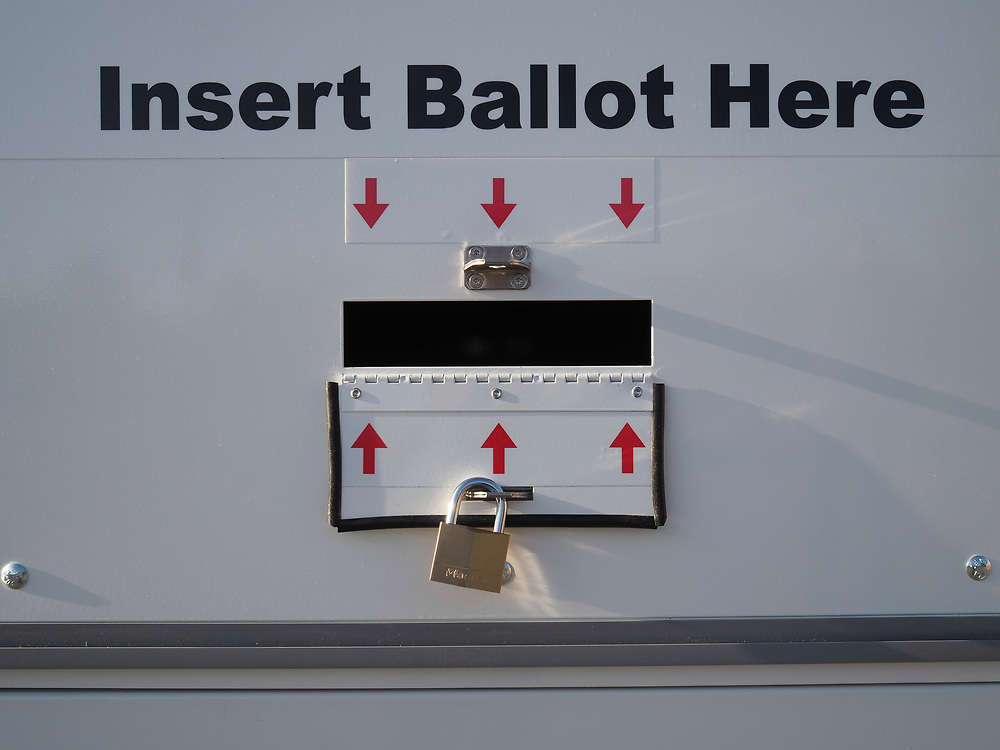 Voters in Maryland's 7th Congressional District Special Election were able to drop off their ballots in strategically placed secure official drop box locations.