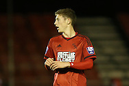 Sam Field, West Bromwich Albion midfielder during the Barclays U21 Premier League match between Brighton U21 and U21 West Bromwich Albion at the Checkatrade.com Stadium, Crawley, England on 25 January 2016.