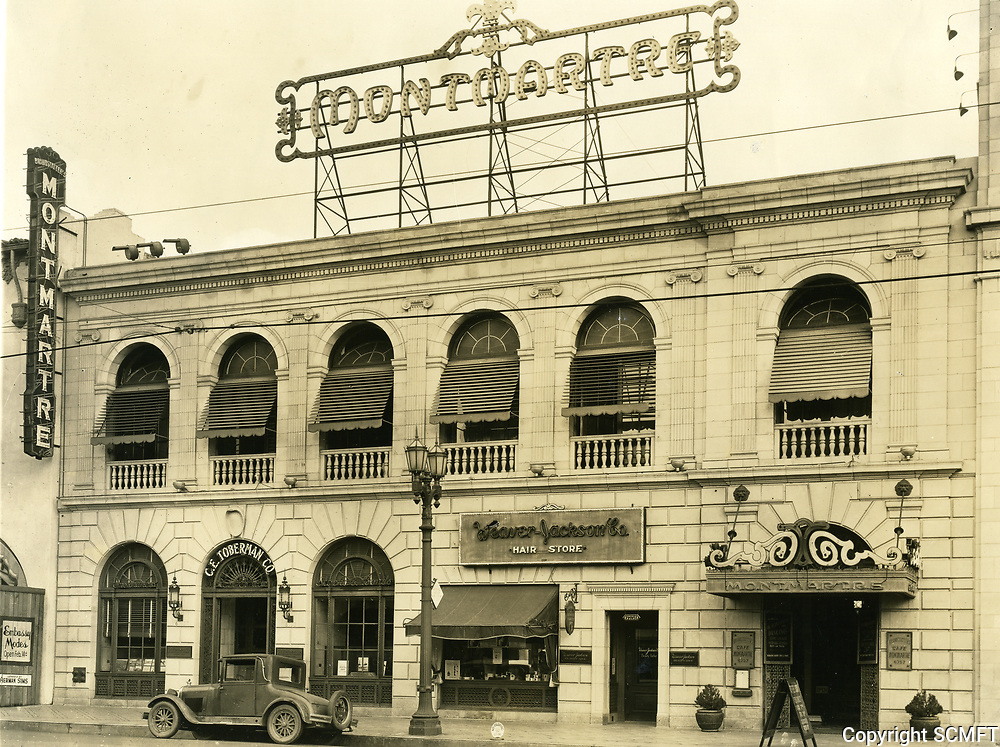 1931 Cafe Montmartre on Hollywood Blvd.